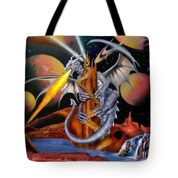 Celestian Dragon Tote Bag