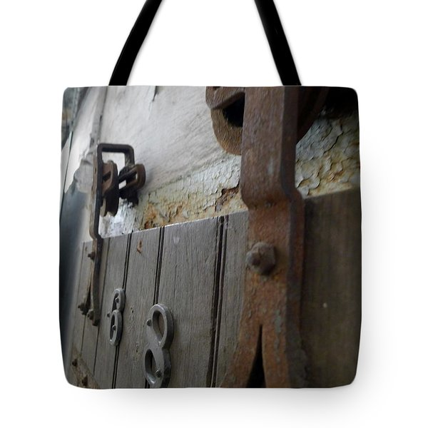 Tote Bag featuring the photograph Cell 6x8 by Richard Reeve