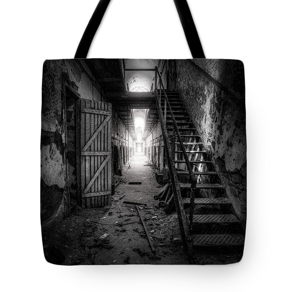 Cell Block - Historic Ruins - Penitentiary - Gary Heller Tote Bag by Gary Heller