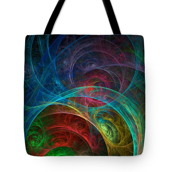 Tote Bag featuring the photograph Cell Division - Planetary Women by Ronda Broatch