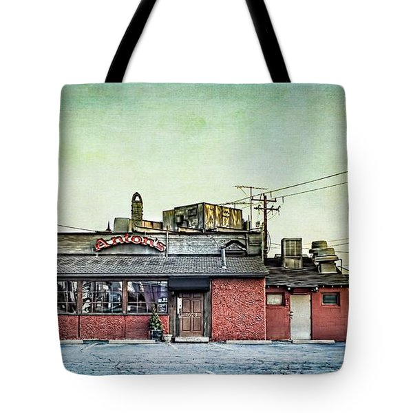 Cellar Anton's Italian Cafe Tote Bag