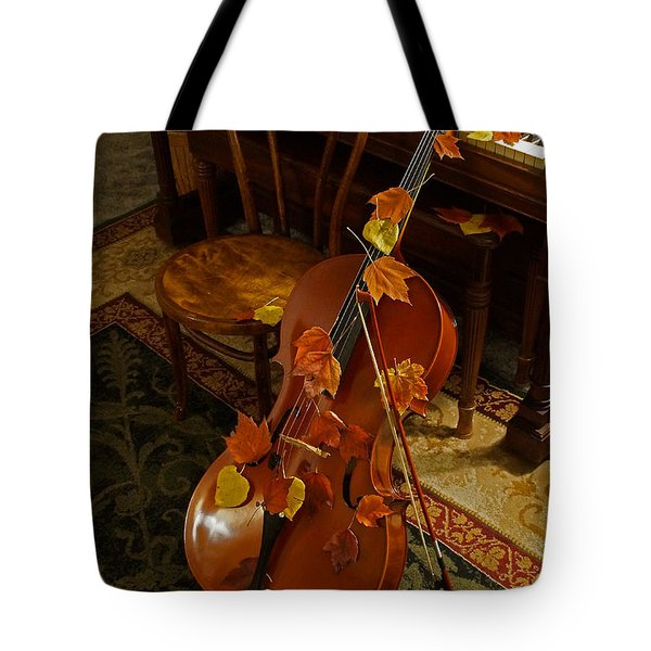 Cello Autumn 1 Tote Bag