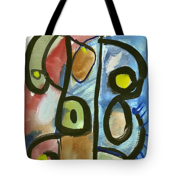 Cello In Blue Tote Bag