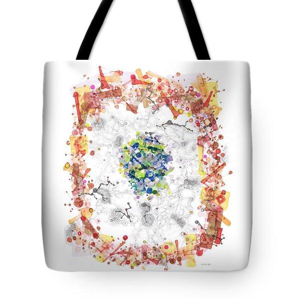Cellular Generation Tote Bag