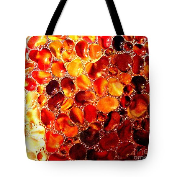 Cellular Tote Bag by Kathy Bassett