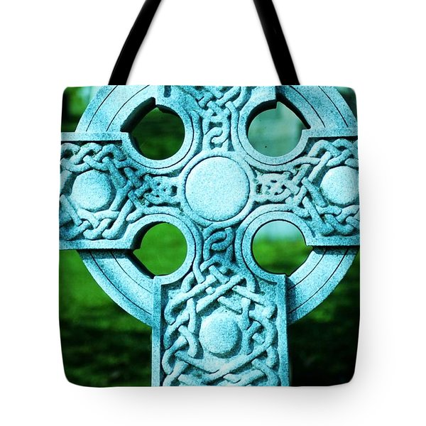 Celtic Cross Tote Bag by Kathleen Struckle