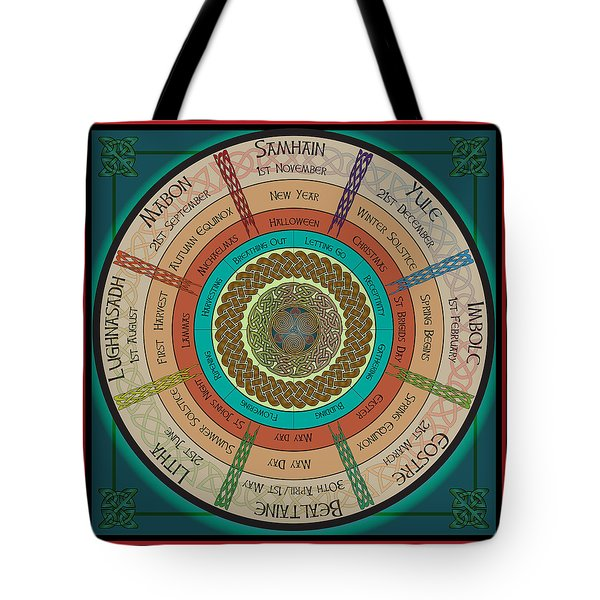 Celtic Festivals Tote Bag