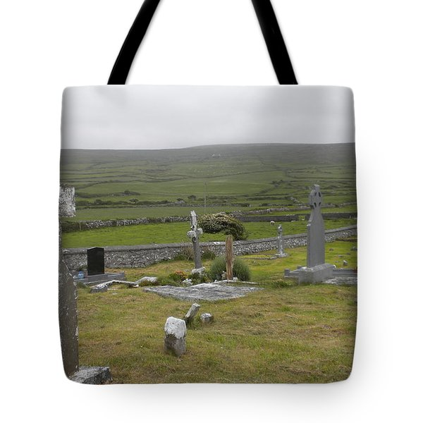 Celtic Graveyard Tote Bag