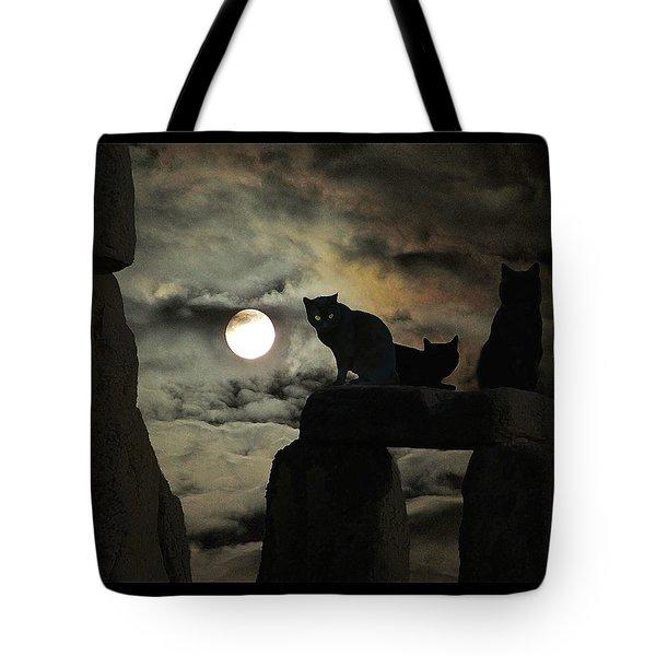 Celtic Nights Tote Bag