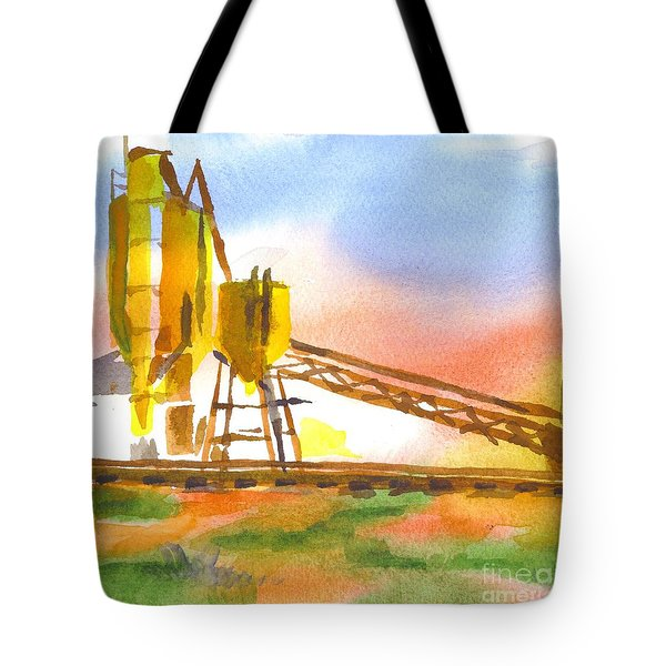 Cement Plant II Tote Bag by Kip DeVore