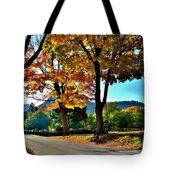 Cemetery Road Tote Bag