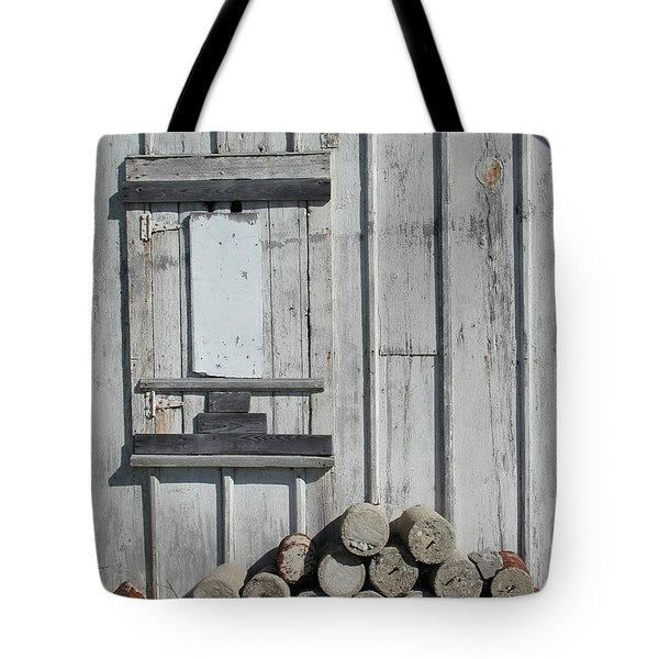 Cemetery Shed Tote Bag by Joseph Yarbrough