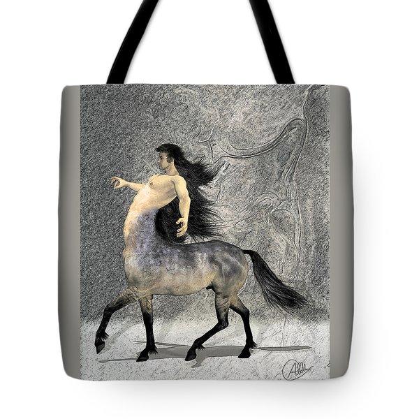 Centaur Tote Bag by Quim Abella