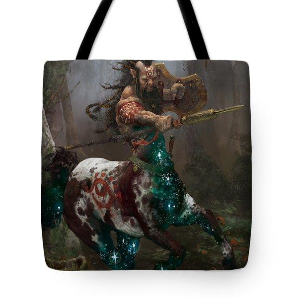 Centaur Token Tote Bag by Ryan Barger