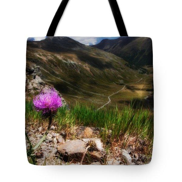 Centaurea Tote Bag