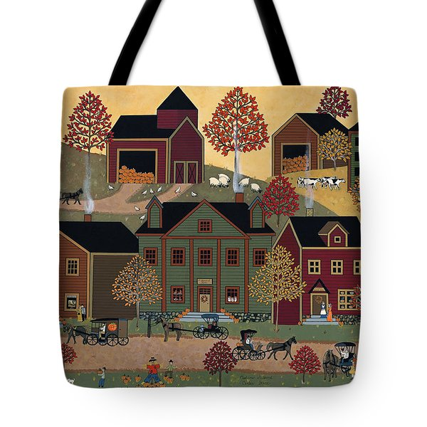 Center Street Tote Bag by Medana Gabbard