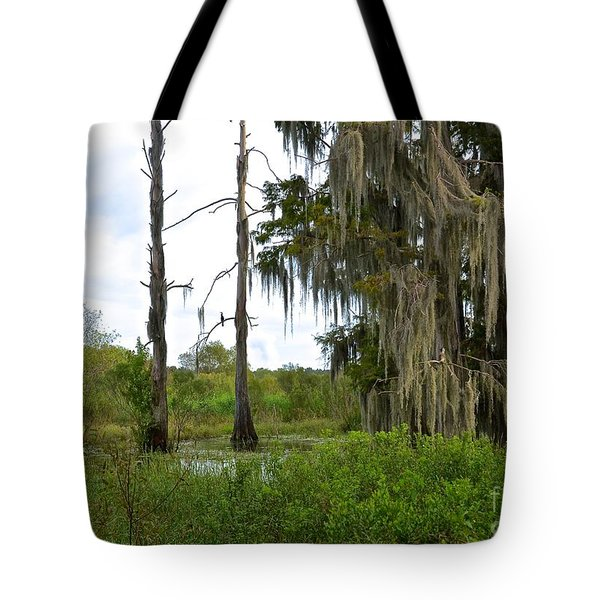 Central Florida Outdoors Tote Bag by Carol  Bradley