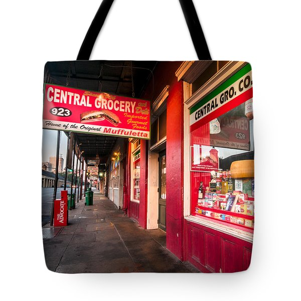 Central Grocery And Deli In New Orleans Tote Bag
