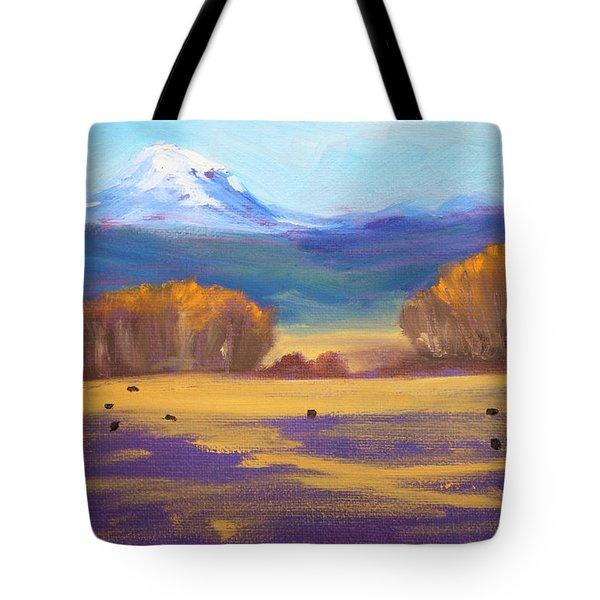 Central Oregon Tote Bag by Nancy Merkle