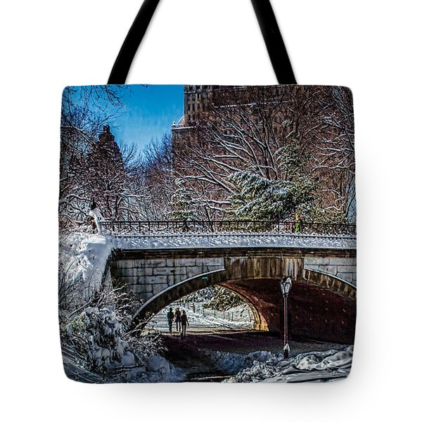 Central Park After Nemo Tote Bag by Chris Lord