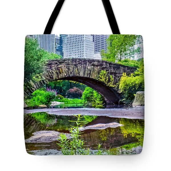 Central Park Nature Oasis Tote Bag