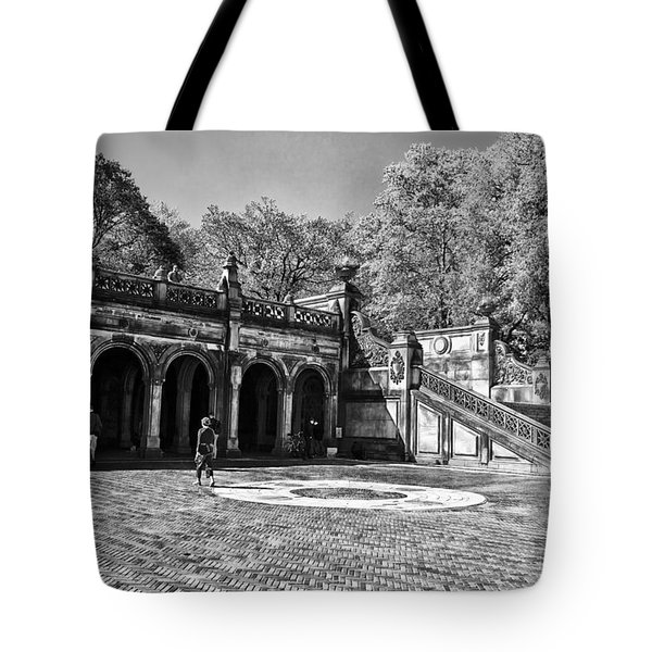 Central Park - Near Bethesda Fountain Tote Bag by Madeline Ellis