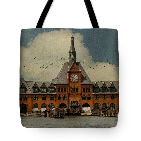 Central Railroad Of New Jersey Tote Bag by Juli Scalzi