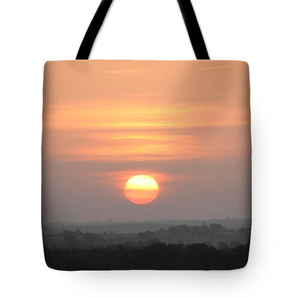 Tote Bag featuring the photograph Central Texas Sunrise by John Glass