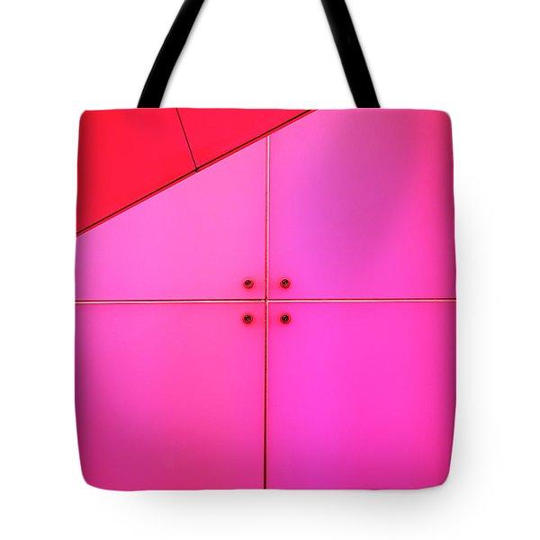 Centre Square Tote Bag by Rona Black