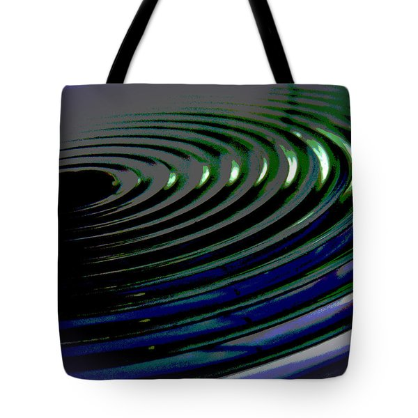 Centrifugal Abstract Tote Bag