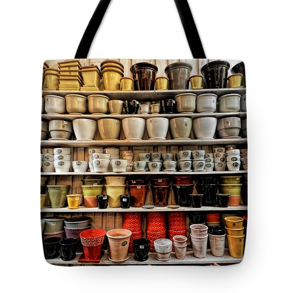 Ceramic Pots For Sale Tote Bag