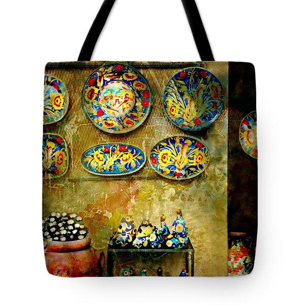 Ceramica Italiana Tote Bag by Diana Angstadt