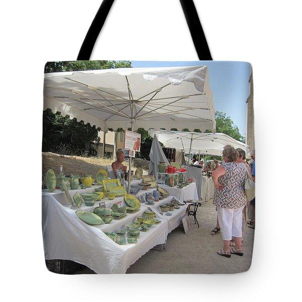 Ceramics For Sale Tote Bag by Pema Hou