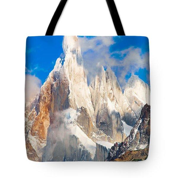 Cerro Torre Tote Bag