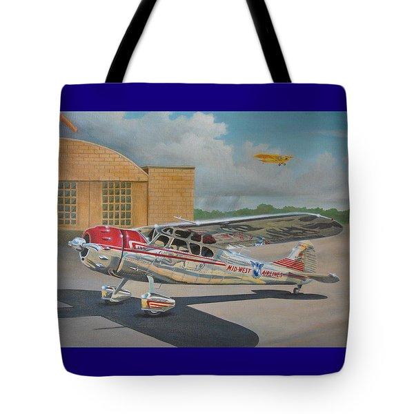 Cessna 195 Tote Bag