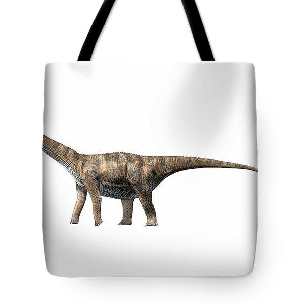 Cetiosaurus Oxoniensis, Middle Jurassic Tote Bag by Nobumichi Tamura