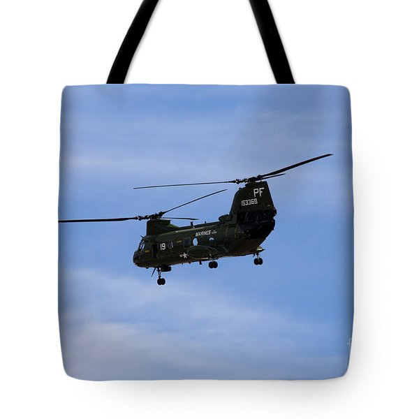 Ch-46 Vietnam Era Paint Tote Bag