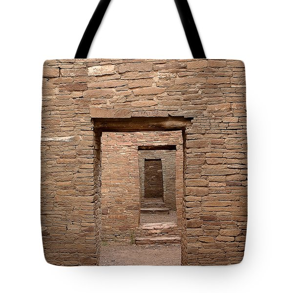Chaco Canyon Tote Bag by Steven Ralser