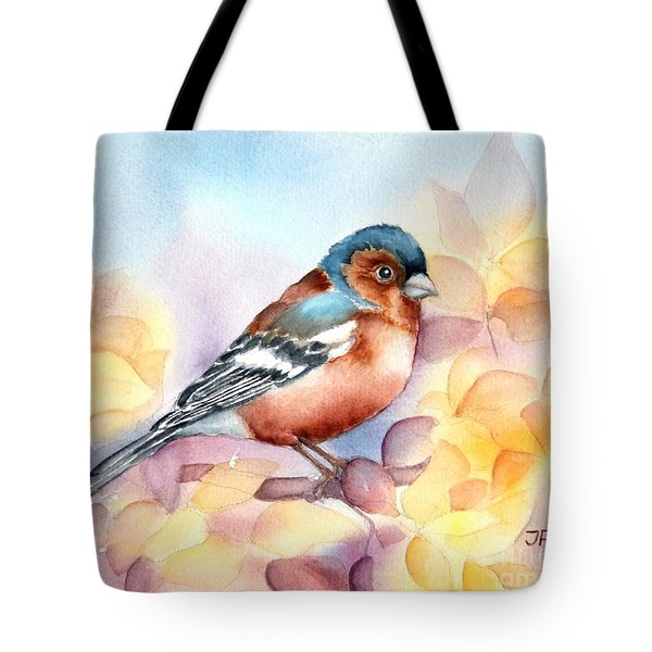 Chaffinch 3 Tote Bag