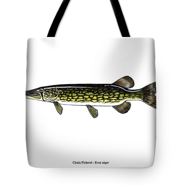 Chain Pickerel Tote Bag