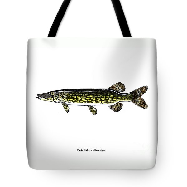 Chain Pickerel Tote Bag