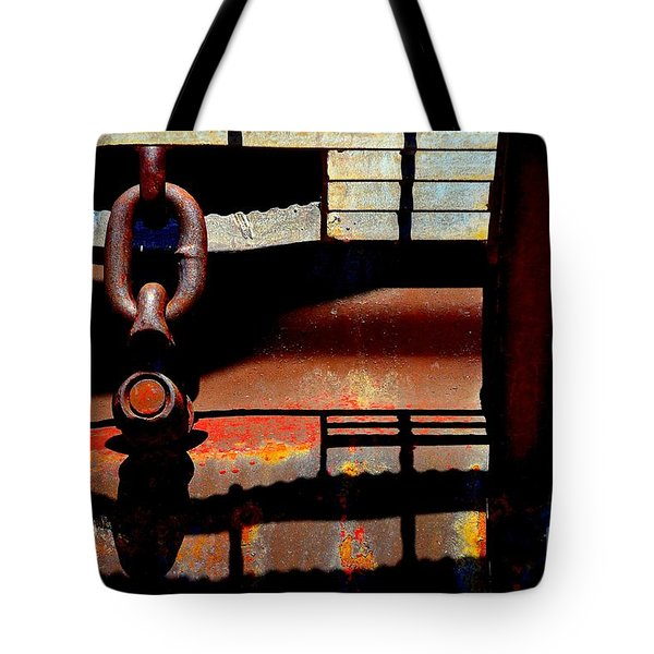 Chain Reaction Tote Bag by Lauren Leigh Hunter Fine Art Photography