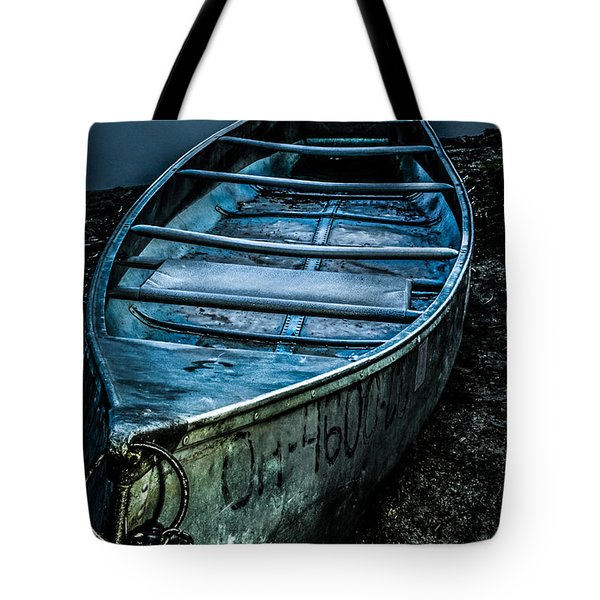 Chained At The Waters Edge Tote Bag