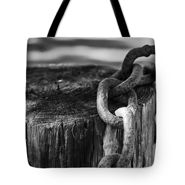 Chained... Tote Bag by Eduard Moldoveanu