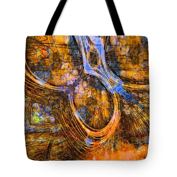 Chained Inside Tote Bag