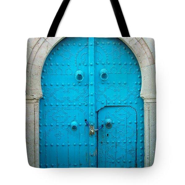 Chained Mini Door Tote Bag