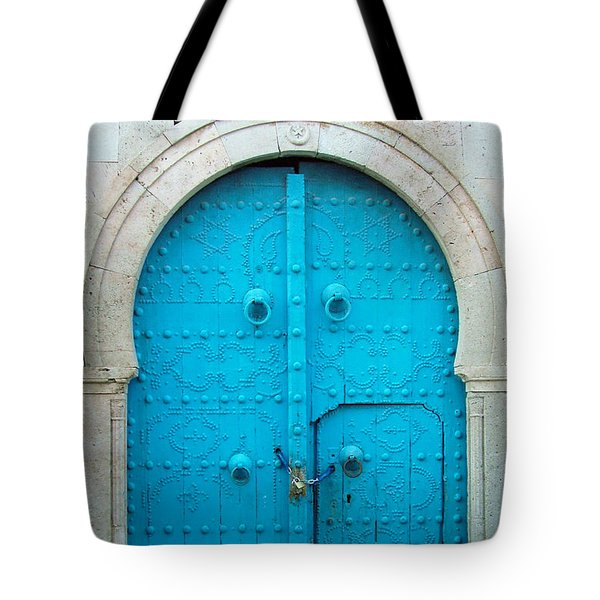 Chained Mini Door Tote Bag