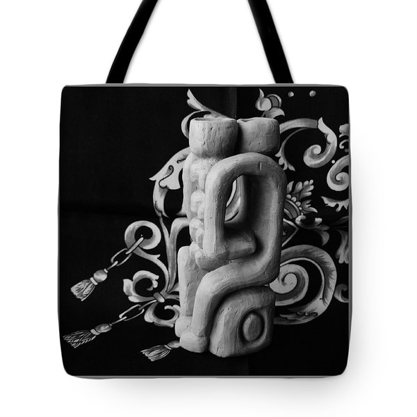 Chained Together Tote Bag by Barbara St Jean