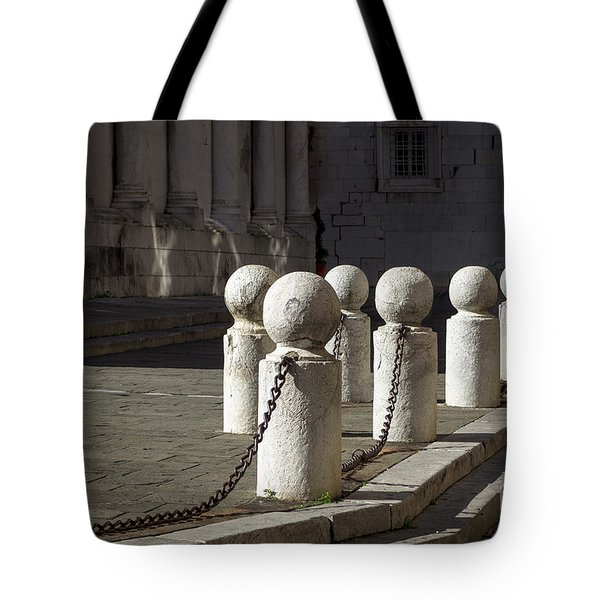 Chained Together Tote Bag