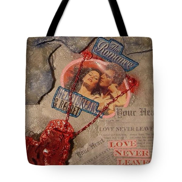 Chains Of Love Tote Bag by Lisa Piper